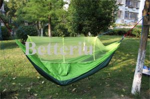 Backpacking Hammock Camping with Mosquito Net pictures & photos