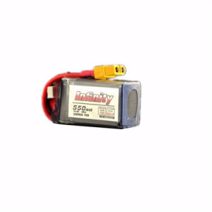 Infinity Lipo Battery 4s1p 14.8V 550mAh 70c Xt60 Plug Connector
