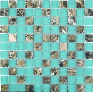 4mm Thickness Glass Mosaic Tile in Foshan (AJTC004) pictures & photos