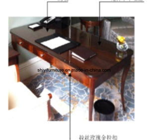 Solid Wood Executive Office Desk, China Furniture Large Executive Desk pictures & photos