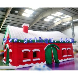 Large Outdoor Inflatable Christmas Funny Decorations House Bouncy House Bouncer Bouncy Castle Jumper Jumping Castle pictures & photos