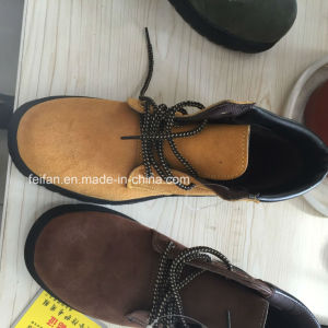 High Quality Suede Leather Safety Shoes pictures & photos