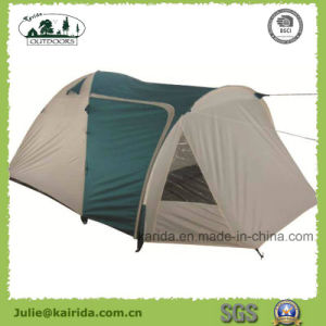 4p Double Layer Camping Tent with Living Room pictures & photos