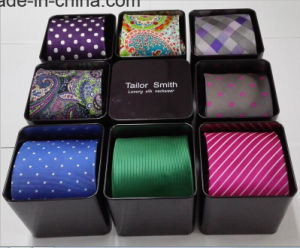 Shenzhen Runze Factory Metal Tin Gift Box for Necktie pictures & photos