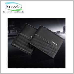 Fashion Brand Black Men Leather Wallet pictures & photos