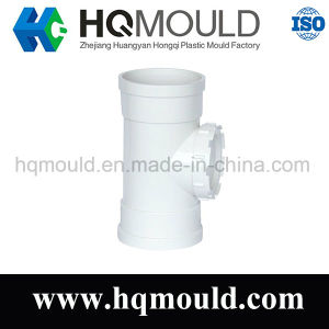 Customized Plastic Tee Mould/ Plastic Injection Pipe Fitting Mould pictures & photos