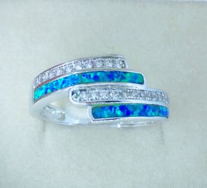 925 Silver Opal Jewelry Rings pictures & photos