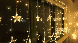 OEM LED Strip Light with Star and Tree Design for Christmas Wedding Decoration pictures & photos