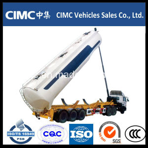 Cimc Tri-Axle 50cbm Bulk Cement Tank Trailer pictures & photos