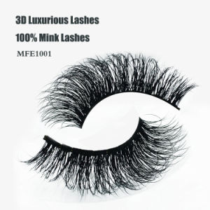Hot Sale 3D Luxurious 100% Mink Hair Lashes Sexy Multi-Layer False Eyelashes pictures & photos
