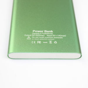 New Power Bank 8000mAh Universal External Battery Charger Powerbank pictures & photos