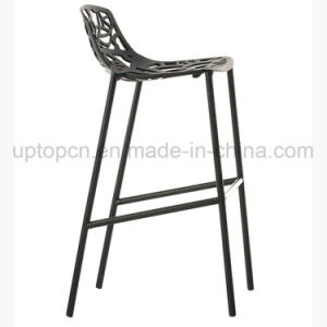 Hollow Black Aluminum High Bar Chair for Club (SP-HBC355) pictures & photos