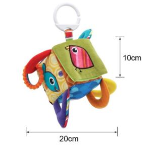 Educational Mobile Square Plush Cube Rattles Baby Toys pictures & photos