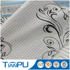 Hangzhou OEM Poly Knitted Mattress Ticking Fabric Cooling Treatment pictures & photos