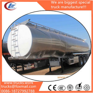 3 Axles 43000liters Tank Trailer Fuel Tanker Semitrailer for Sale pictures & photos