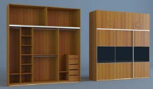 Cheap and Practical Bedroom Wardrobe 3 Sliding Door (SZ-WDP03) pictures & photos