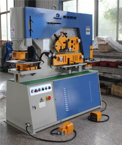 Q35y-16 Hydraulic Combined Punching Shearing pictures & photos