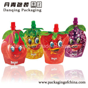 Stand up Beverage Pouches Juice Bag with Spout pictures & photos
