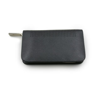 Custom Smooth Leather Black Key Bag pictures & photos
