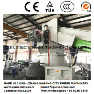 Plastic Recycling Pelletizing Machine for Plastic Film Roller pictures & photos