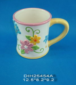 Hand-Painted Ceramic Coffee Mug pictures & photos