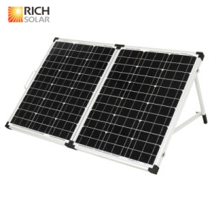 120W 12V Mono Folding Solar Panel with UL Certificates pictures & photos