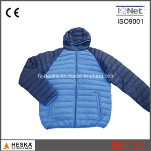 Winter Bomber Quilted Thick Cheap Down Jacket pictures & photos