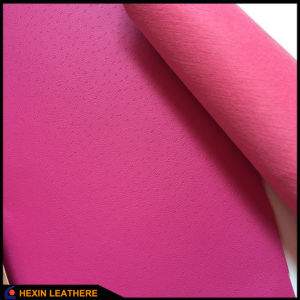 Nonwoven Shoes Lining PU Leather Fabric Hx-L1720 pictures & photos