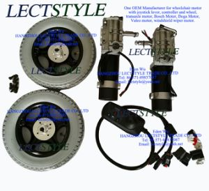 Left & Right 4 Pole Motors for Pronto M91 Sure Step Power Wheelchair #6107 pictures & photos
