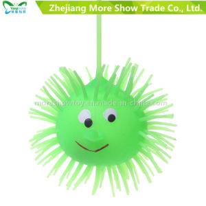 Novelty Multicolor Puffer Yoyo Light up Ball Kid Toys pictures & photos