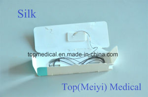 Silk Braided Suture Non-Absorbable pictures & photos