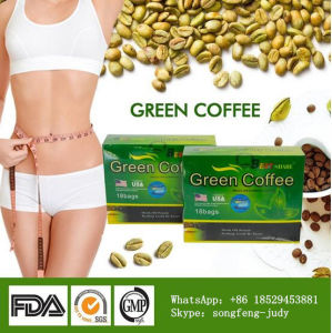 Skinny Green Coffee for Weight Loss, Effectively Slimming Body Health Food pictures & photos
