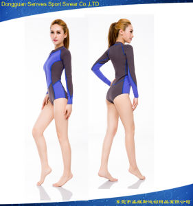 Woman′s Neoprene Fitness Sexy Beach Surfing Diving Durable Wetsuit pictures & photos