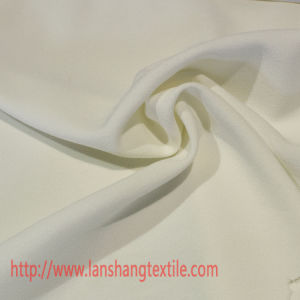 Polyester Fabric Spandex Fabric Two Side Stretch Fabric Woven Fabric Chemical Fabric for Garment Trousers pictures & photos