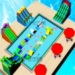 Outdoor Customized Inflatable Play Water Equipment Toys for Water Park pictures & photos