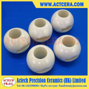 High Precision Dn25 Zirconia Ceramic Ball Valve pictures & photos