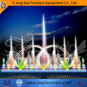 Lake Colorful Lights Fountain Outdoor Dancing Floating Water Fountain pictures & photos