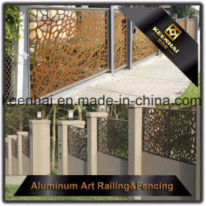 Decorative Laser Cut Perforated Sheet Metal Aluminum Garden Fence pictures & photos