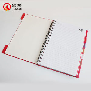 Red PP Cover Spiral Notebook pictures & photos