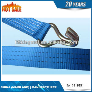Flat Shape with Lifting Eye Type Webbing Pipe Lifting Sling pictures & photos