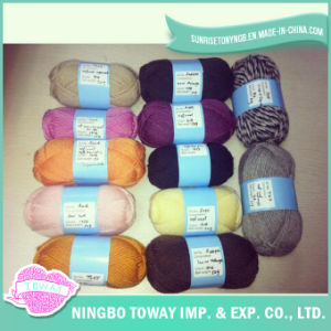 Polyester Hand Knitting Wool Scarf Cotton Viscose Yarn pictures & photos