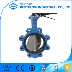 Ductile Iron Lug Type Butterfly Valve pictures & photos
