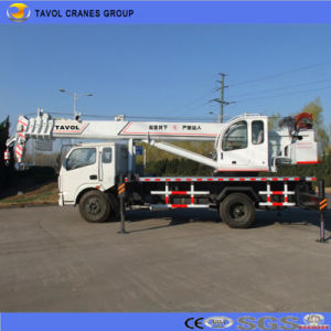 High Efficiency Construction Machinery Tavol 20t Mobile Truck Crane Manufacture From Shandong China pictures & photos