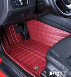 Car Carpet 3D with Leatherette 5-Layer in Strips Embroidery pictures & photos