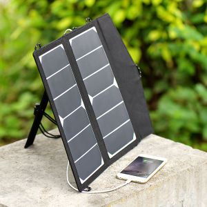12W Foldable Solar Charger for The Mobile Phone Laptop pictures & photos