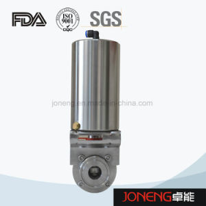 Stainless Steel Food Grade Pneumatic Butterfly Valve with Control Cap (JN-BV1002) pictures & photos