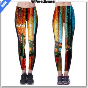 Custom Reflective Silver Logo Women Leggings Sexy Yoga Pants pictures & photos