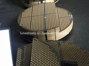 Navel Brass Baffle Plate for Heat Exchanger pictures & photos