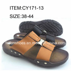 Comfortable Flip Flip Men Slip-on Slippers Casual Sandals (FFCY0411-02) pictures & photos
