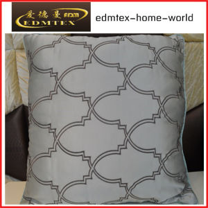 Embroidery Decorative Cushion Fashion Velvet Pillow (EDM0346)